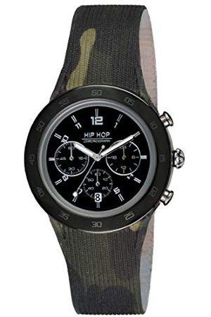 Hip Męski chronograf kwarcowy zegarek z silikonowym paskiem HWU0710