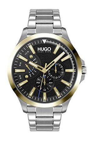 HUGO BOSS Męski analogowy zegarek kwarcowy z bransoletką ze stali szlachetnej 1530174