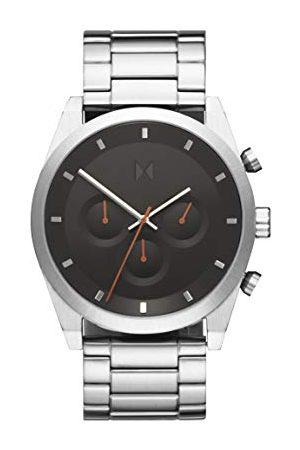 MVMT Męski analogowy zegarek kwarcowy z bransoletką ze stali szlachetnej 2800046-D