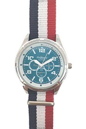 ARABIANS Męski analogowy zegarek kwarcowy z bransoletką z materiału DBP0221A