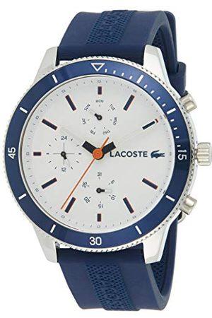 Lacoste Mężczyzna Zegarki - Męski wielofunkcyjny zegarek kwarcowy z paskiem silikonowym 2010993