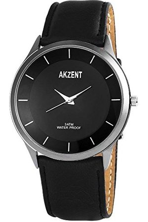 Akzent Męski analogowy zegarek kwarcowy z różnymi materiałami bransoletka SS757100015