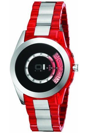 Unbekannt Mężczyzna Zegarki - THE ONE - Binary Watch męski zegarek na rękę Turning Disc analogowy kwarcowy AN08G04