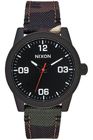 Nixon Damski analogowy zegarek kwarcowy z nylonową bransoletką A964047
