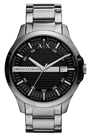 Armani Męski analogowy kwarcowy zegarek z bransoletką ze stali szlachetnej AX2103