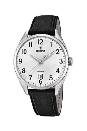 Festina Męski analogowy automatyczny zegarek ze skórzanym paskiem F16977/1