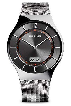 Bering Męski zegarek na rękę analogowy kwarcowy stal szlachetna 51640-077