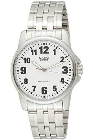 Casio Męski zegarek na rękę Classic analogowy kwarcowy stal szlachetna MTP-1260PD-7BEF