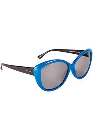 Del Sol Unisex okulary przeciwsłoneczne Solize Lunettes de Soleil à Couleur changeante Pour Femme dla dorosłych, białe, 55 mm, 60 mm