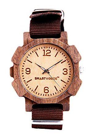 SmartWoods Zegarki - Unisex Dorośli Analogowy zegarek kwarcowy z nylonową bransoletką 5902706213805