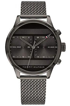 Tommy Hilfiger Męski analogowy klasyczny zegarek kwarcowy z paskiem ze stali nierdzewnej 1791597
