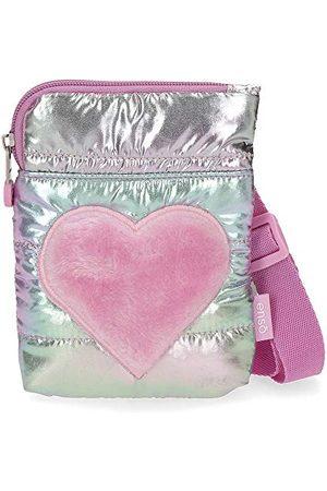 Enso Fancy torba na ramię różowa 20x24 cm poliester