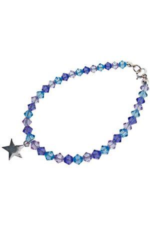 Chic A Boo Dziecięca bransoletka ze srebra wysokiej próby gwiazda i kryształ Swarovskiego 15 cm