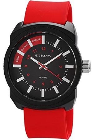 Excellanc Męski zegarek na rękę XL analogowy kwarcowy kauczuk 22567500020