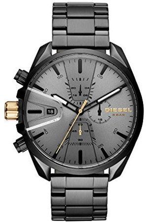 Diesel Męski chronograf kwarcowy zegarek z bransoletką ze stali szlachetnej DZ4474