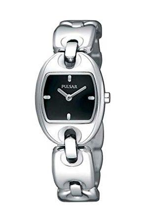 Pulsar Damski analogowy zegarek kwarcowy z bransoletką ze stali szlachetnej PJ5401X1_NEGRO