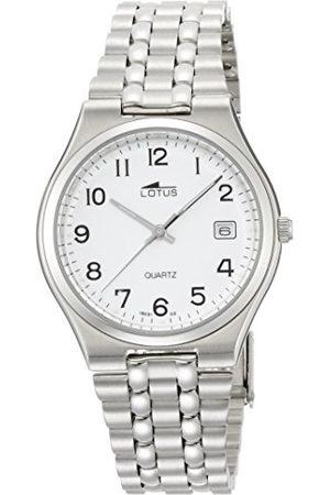 Lotus Męski analogowy zegarek kwarcowy z bransoletką ze stali szlachetnej 15031/2