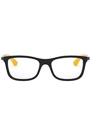 Ray-Ban Unisex dla dzieci 0RY 1549 3733 48 oprawki okularów, czarne (czarne)