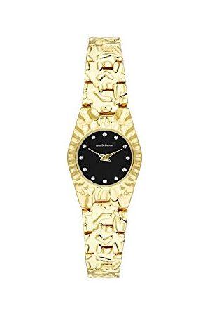 Jean Bellecour Unisex-dorosły analogowy klasyczny zegarek kwarcowy z paskiem ze stali nierdzewnej REDS23