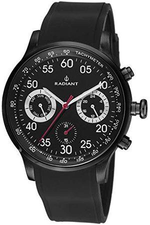Radiant Mężczyzna Zegarki - Męski chronograf kwarcowy zegarek z gumową bransoletką RA44601