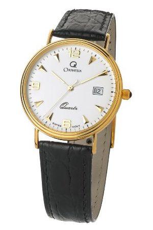 ORPHELIA Mężczyzna Zegarki - Męski analogowy zegarek kwarcowy ze skórzanym paskiem MON-7081/1