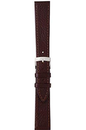 Morellato Bransoletka skórzana do zegarka męskiego DUBLINO brązowa 20 mm A01D075333034CR14