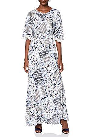 Koton Damska letnia sukienka z frędzlami na obszyciu rękawów sukienka imprezowa