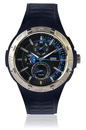 Munich Unisex dla dorosłych analogowy kwarcowy zegarek z gumową bransoletką MU+118.2A