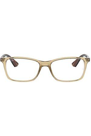 Ray-Ban Mężczyzna Okulary przeciwsłoneczne - Męskie oprawki okularów 0RX 7047 5770 54, beżowe (przezroczysty beż)