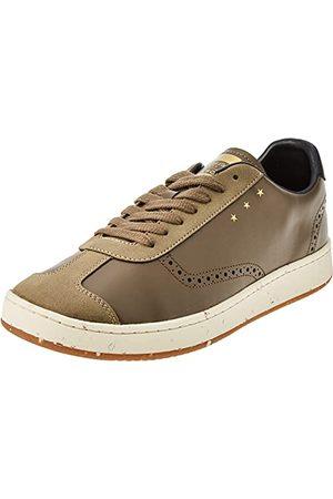 Pantofola d'Oro Sneakersy - PANTOFOLA D'ORO 1886 Unisex B-golf niski Oxford płaski, Oliva - 38 EU