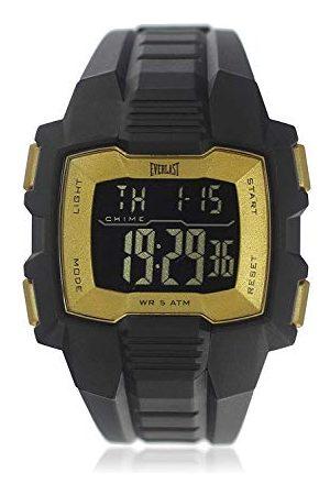 Everlast Unisex dla dorosłych cyfrowy zegarek kwarcowy z plastikową bransoletką EVER33-507-007