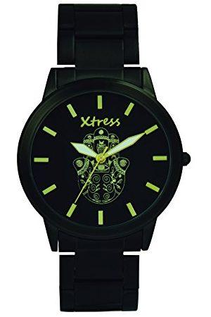 XTRESS Mężczyzna Zegarki - Męski analogowy zegarek kwarcowy z bransoletką ze stali szlachetnej XNA1034-43
