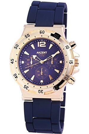 Akzent Męski analogowy zegarek kwarcowy bez paska SS8803000014