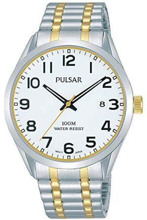 Pulsar Zegarek kwarcowy z paskiem ze stali nierdzewnej PS9565X1