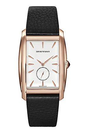 Emporio Armani Męski analogowy zegarek kwarcowy pasek M