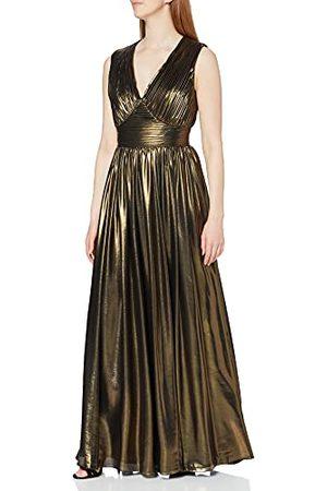 Gina Bacconi Kobieta Sukienki koktajlowe i wieczorowe - Damska sukienka koktajlowa z metalicznym szyfonem