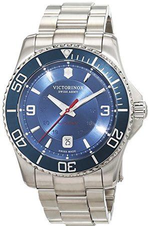 Victorinox Mężczyzna Zegarki - Męski analogowy automatyczny zegarek z bransoletką ze stali szlachetnej 241706
