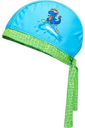 Playshoes Dziewczynka Opaski - Unisex dziecięca chusta na głowę Dino kapelusz przeciwsłoneczny