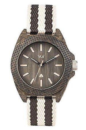 WeWood Mężczyzna Zegarki - Męski analogowy zegarek kwarcowy Smart Watch z materiałową bransoletką WW54001