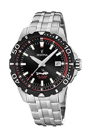 Festina Unisex dla dorosłych analogowy zegarek kwarcowy z bransoletką ze stali szlachetnej F20461/2