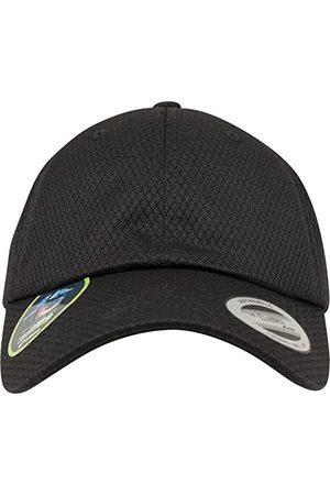 Flexfit Honeycomb Dad Cap czapka uniseks dla kobiet i mężczyzn, z teksturą plastra miodu i zapięciem na sprzączkę