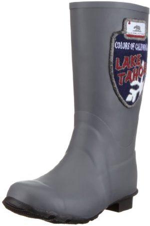 Colors of California Gummistiefel buty damskie typu sneaker, Gray Grau Grau - 36.5 EU