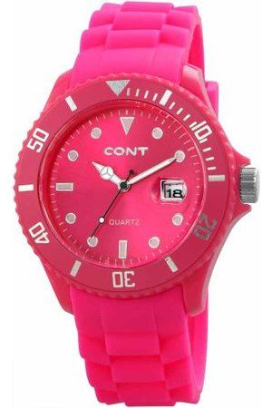 CONT Męski zegarek na rękę XL analogowy kwarcowy silikon RP3458560004