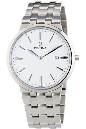 Festina Męski zegarek na rękę XL analogowy kwarcowy stal szlachetna F6825/5