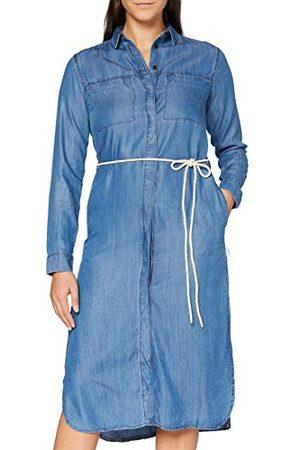 Lee Cooper Damska sukienka wieczorowa z długim rękawem
