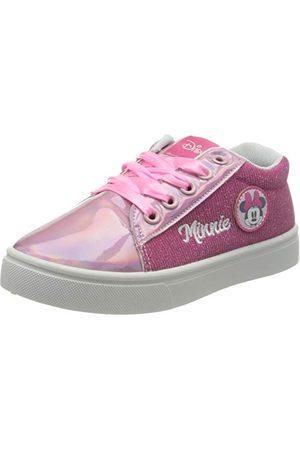Artesanía Deportiva Baja Minnie Sneaker dziecięce buty sportowe, różowy - Rosa Rosa C07-32 EU