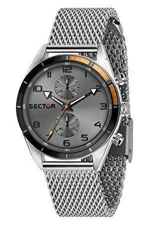 Sector No Limits Mężczyzna Zegarki - Męski analogowy zegarek kwarcowy z bransoletką ze stali nierdzewnej R3253516005