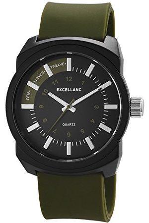 Excellanc Męski zegarek na rękę XL analogowy kwarcowy kauczuk 22567600020