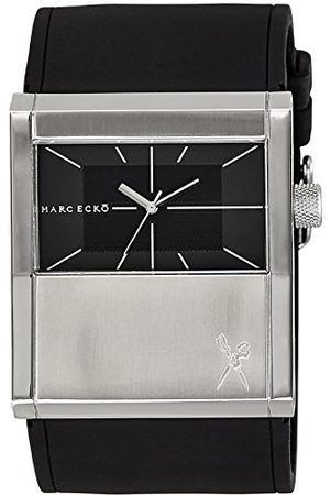 Marc Ecko Męski datownik klasyczny zegarek kwarcowy z silikonowym paskiem E11528G1