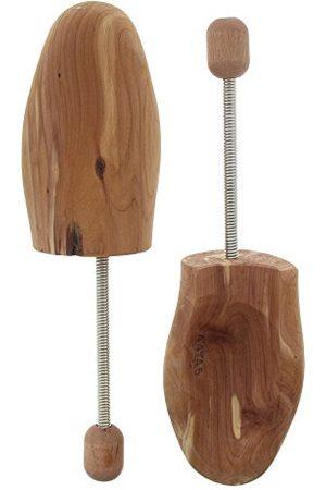 Bama Napinacz do butów z drewna cedrowego, napinacz spiralny z aromatycznego drewna cedrowego, uniseks, brązowy - Beige Farblos - 46/47 EU